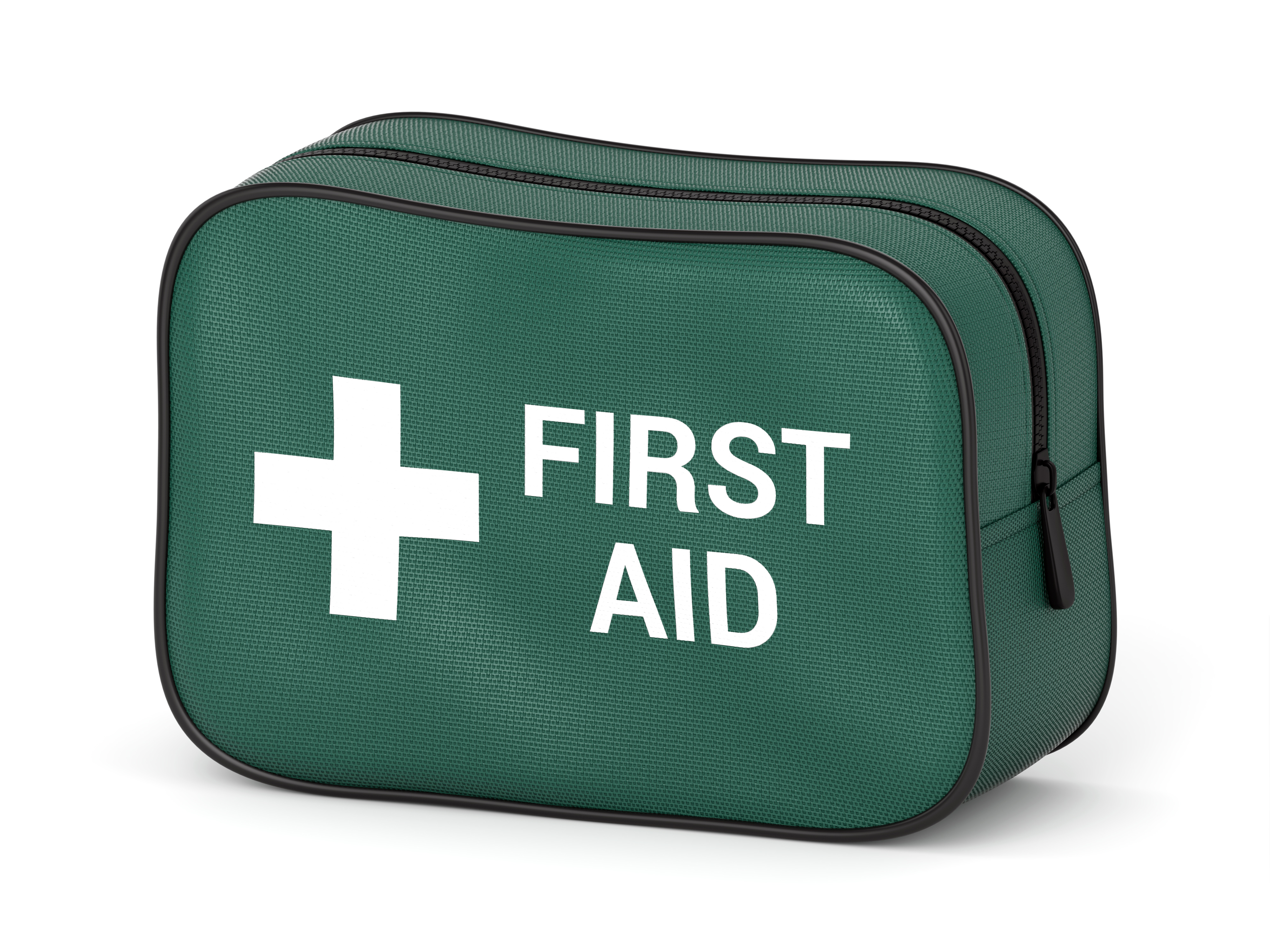 First Aid Kit with Pocket Knife