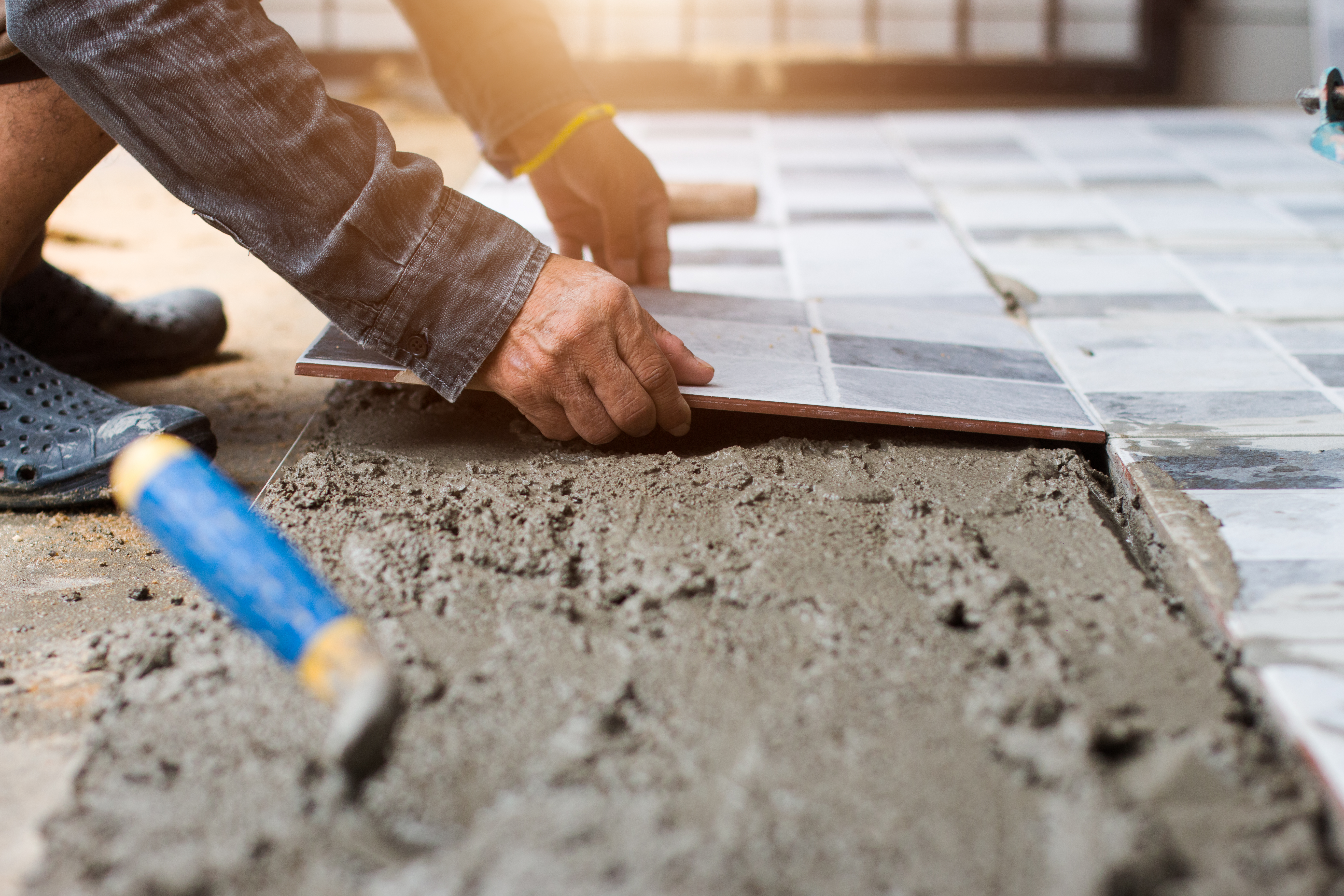 How to Prepare for Laying Tile Over a Concrete Floor | Home