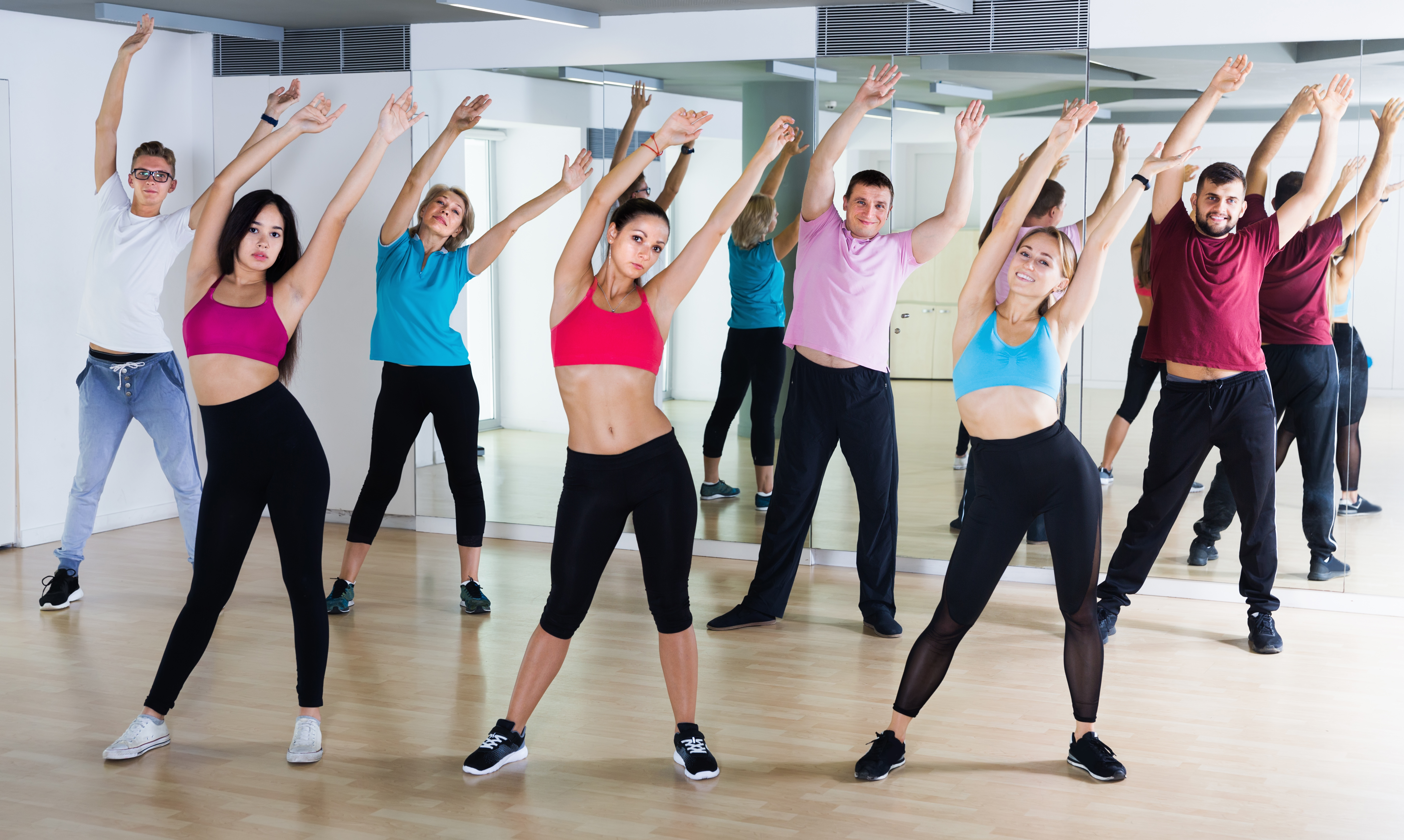Basic Aerobic Dance Steps Two Step Diagrams