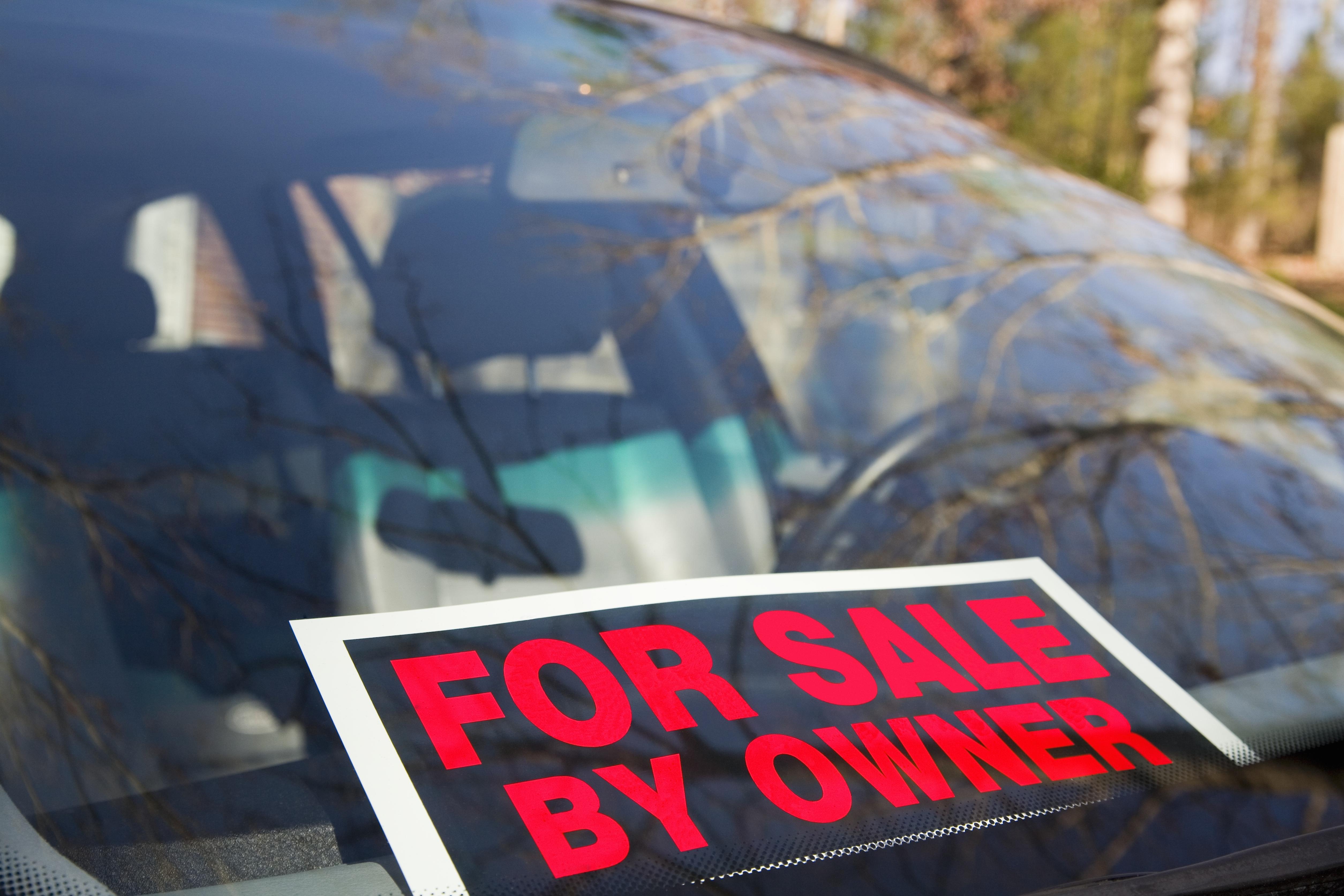How to arrange a car sale
