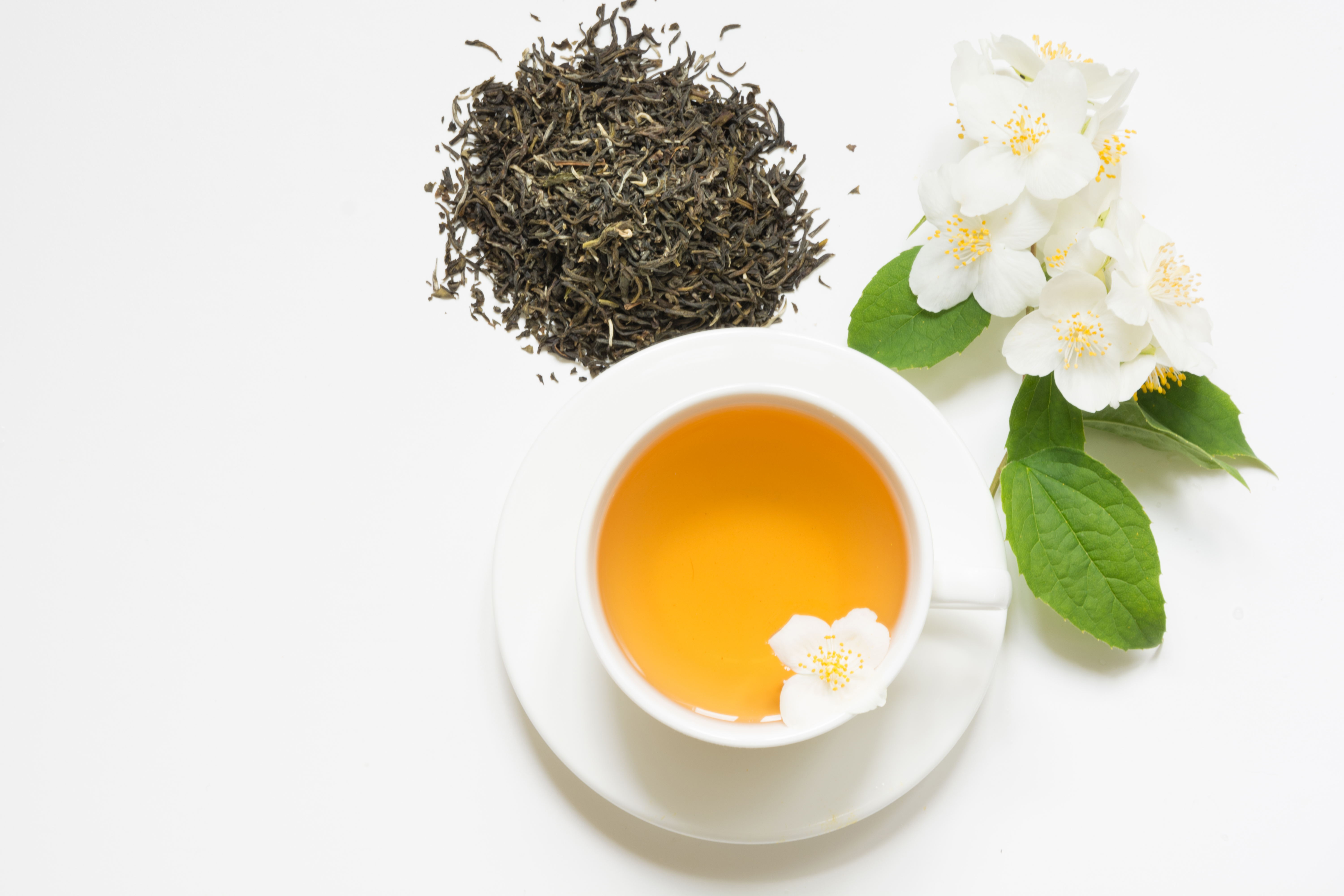 is drinking ginseng & green tea good for the body? | healthy