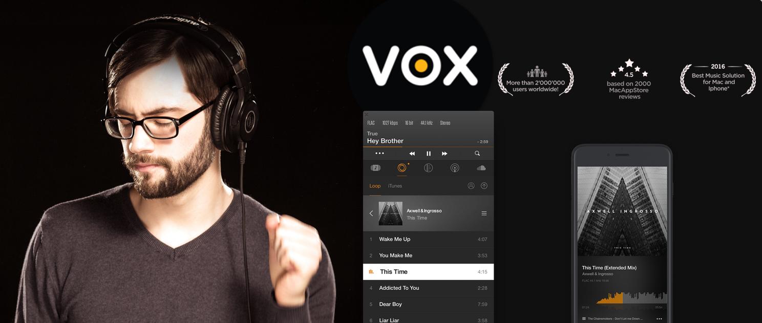 Apple Music vs Spotify vs VOX Cloud