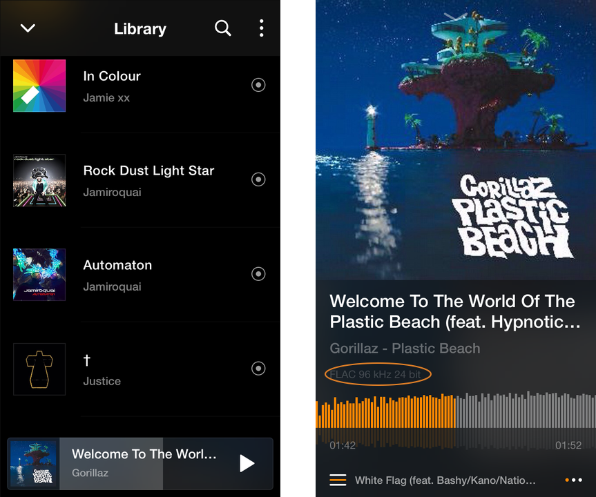 VOX Audio Player for iOS with Advanced Audio Settings