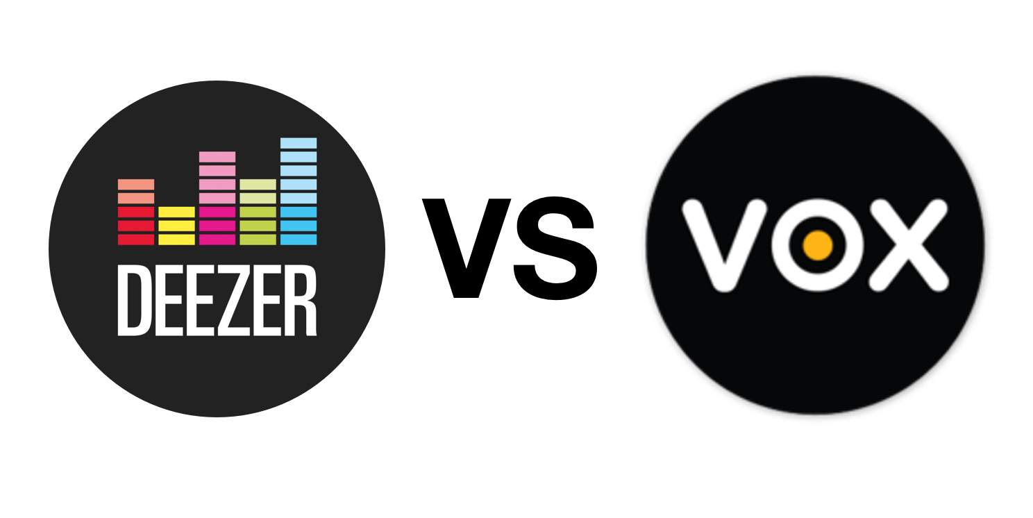 Deezer vs VOX Music Player - Detailed Comparison