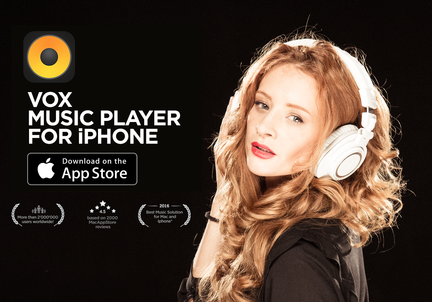 VOX Hi-Res Music Player is the best music player for Hi-Res music. Available for Mac & iPhone, it's been the #1 choice for more than two million users from all around the world.