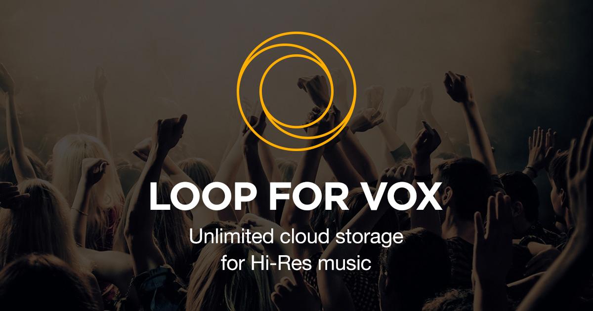 iCloud Music Library vs. LOOP Music Cloud Storage. LOOP Music Cloud Storage logo