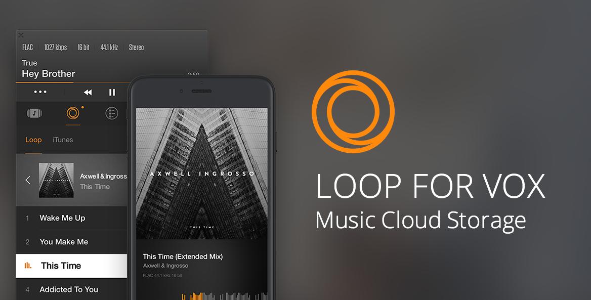 LOOP Music Cloud logo as MP3 Music Download apps alternative
