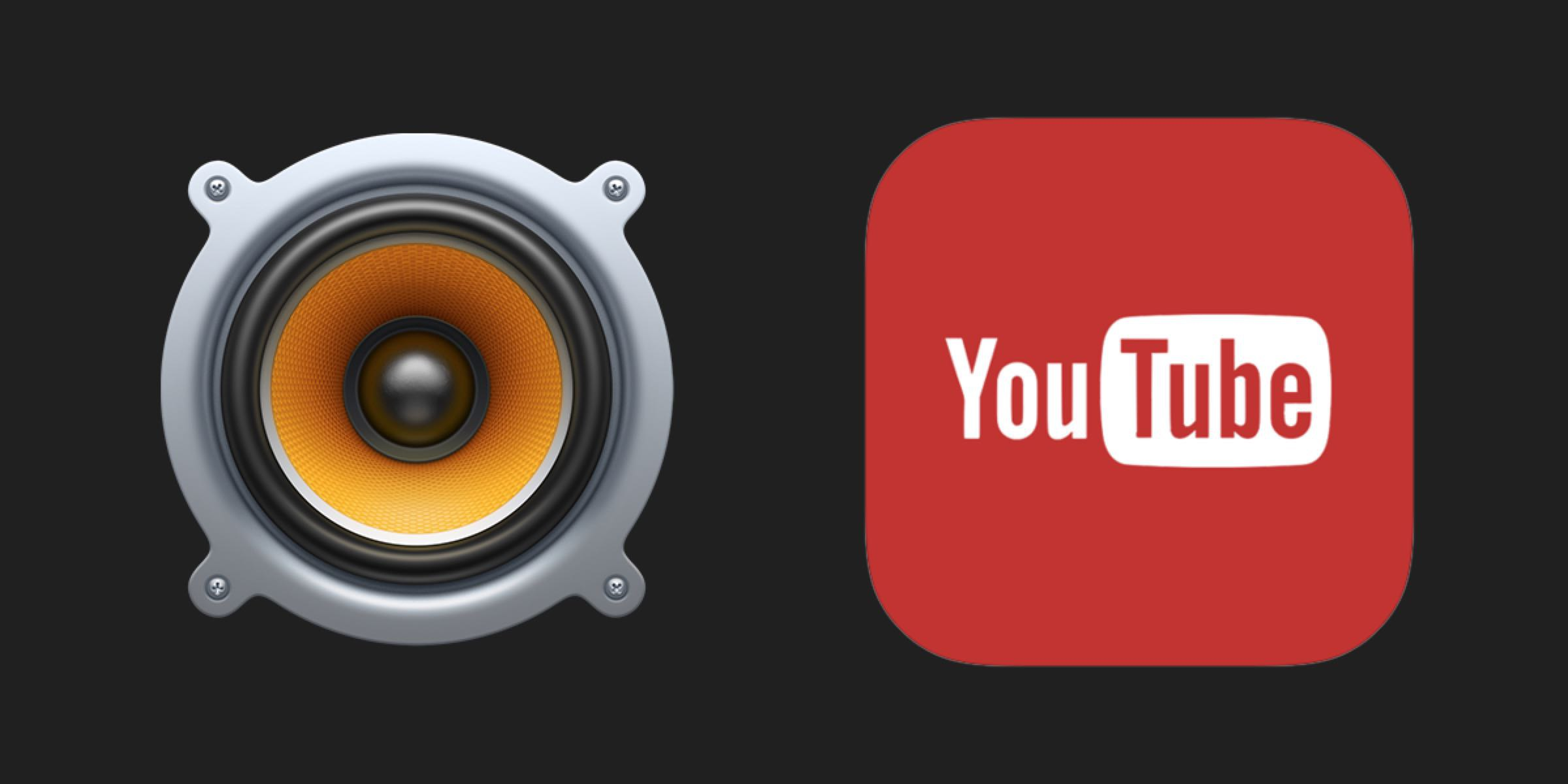 Youtube and VOX Music Player logos. VOX helps you turn Youtube video into MP3