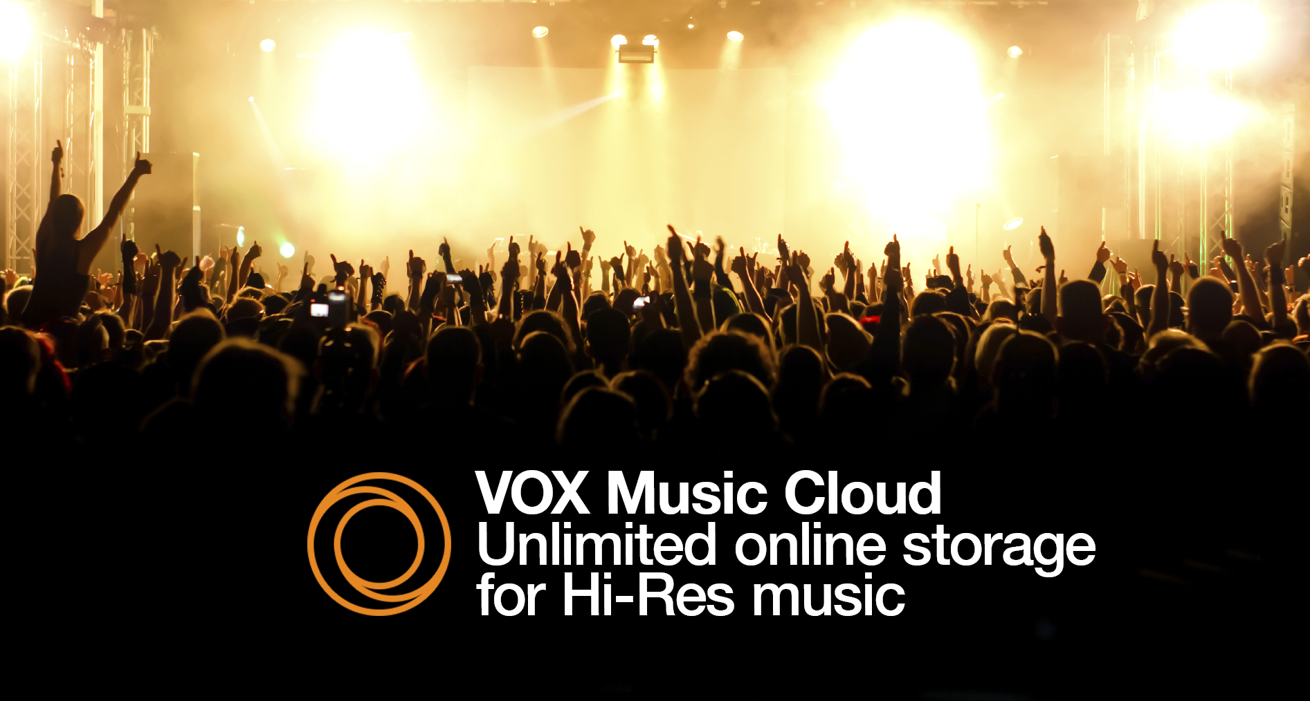 VOX Music Cloud logo