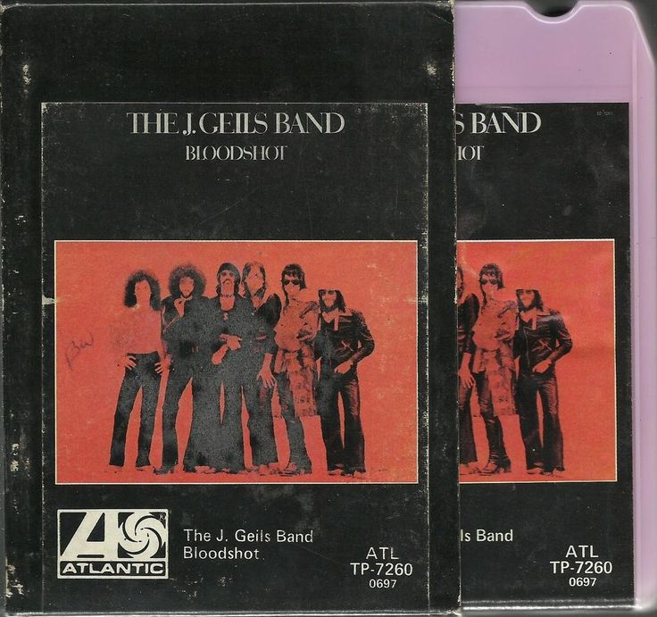 The J. Geils Band – Bloodshot. An 8-track tape