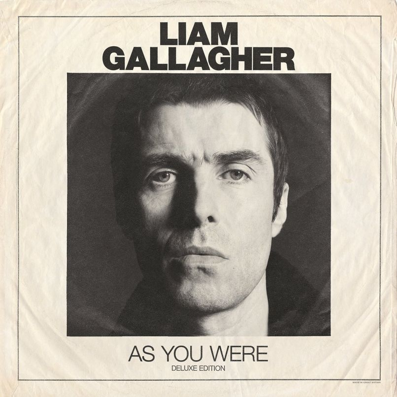 As You Were by Liam Gallagher album cover
