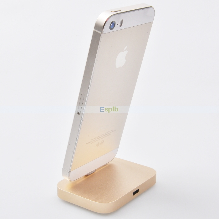 An iPhone dock