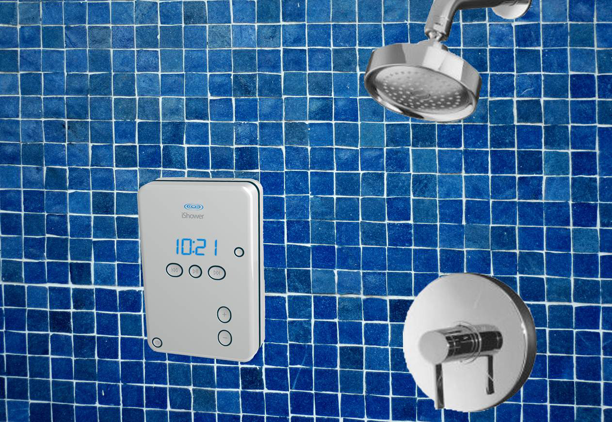 Shower audio player