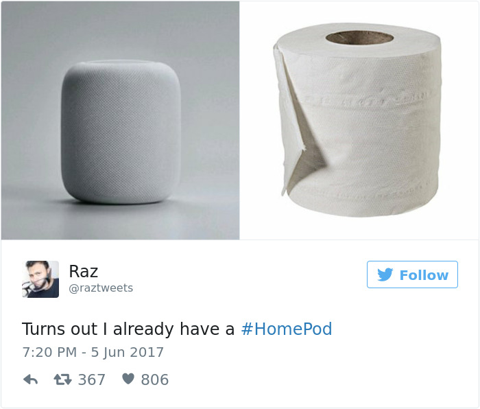 Twitter reacts to Apple HomePod