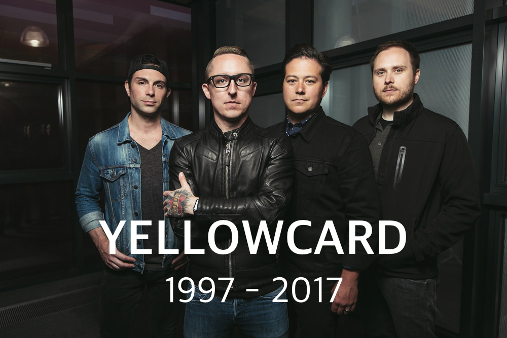 Bands we've lost in 2017: Yellowcard