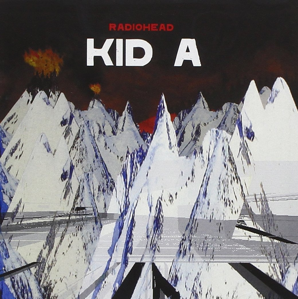 Radiohead's 'Kid A' album cover