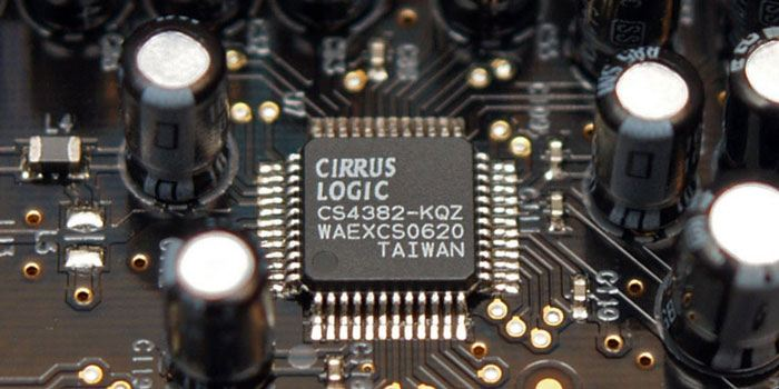 Cirrus Logic Chip in a DAC