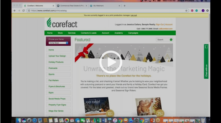 Corefact Developing Strategic Target Lists Webinar Screenshot