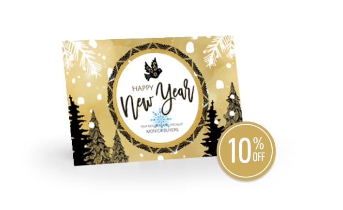 New Years Seasonal Postcards