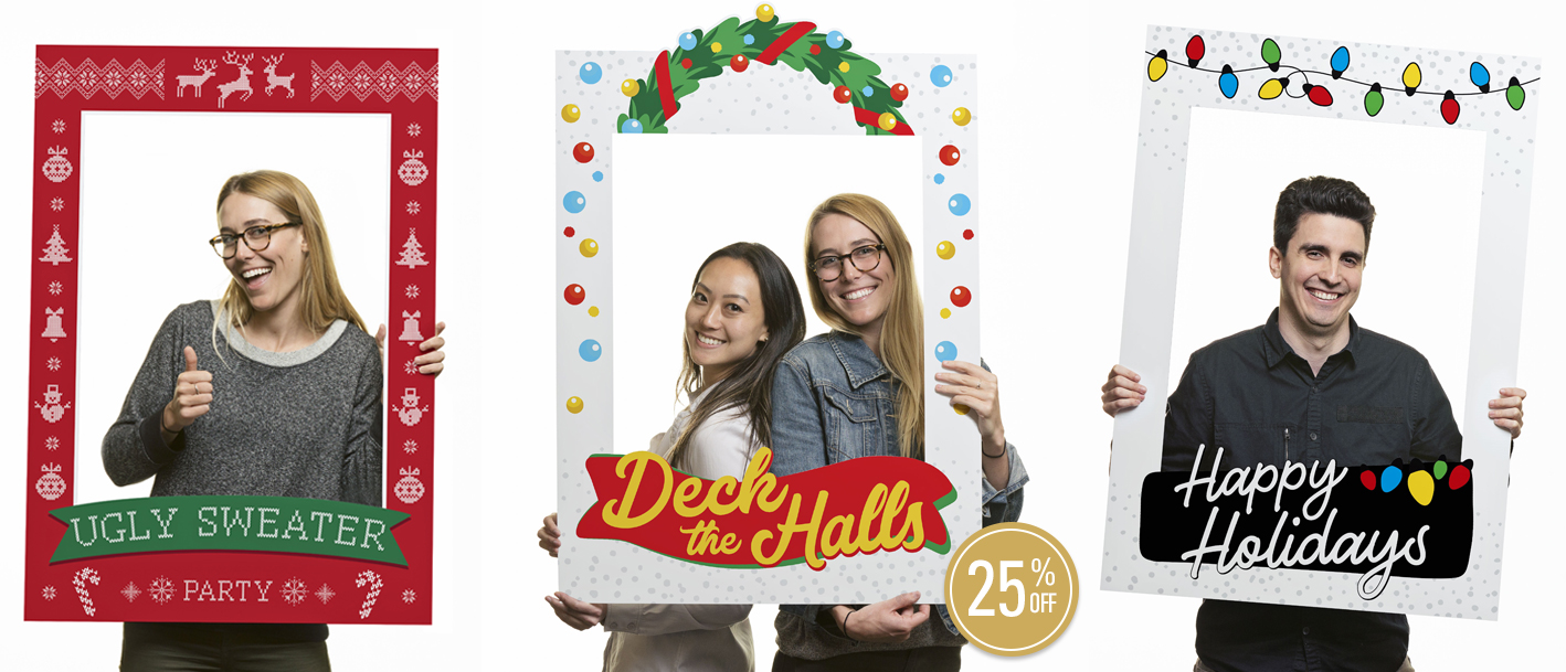 Season's Greetings Social Media Frames