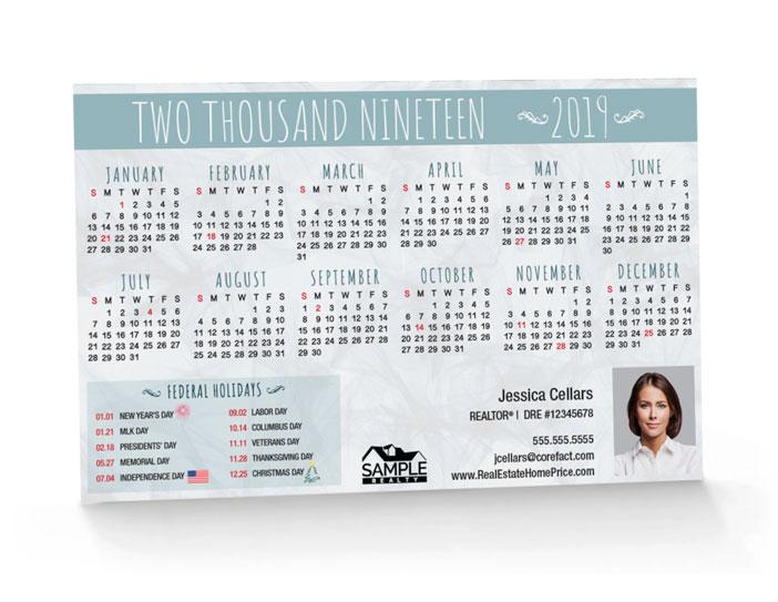 Corefact Calendar 2019 - 07