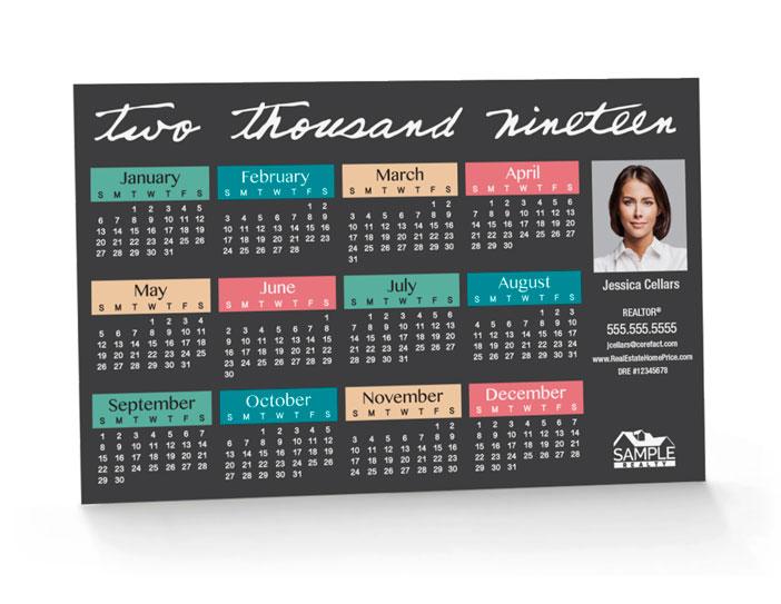 Corefact Calendar 2019 - 09