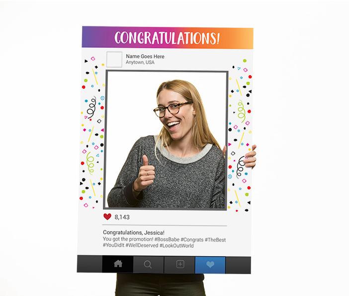 Corefact Congratulations Frame - 04