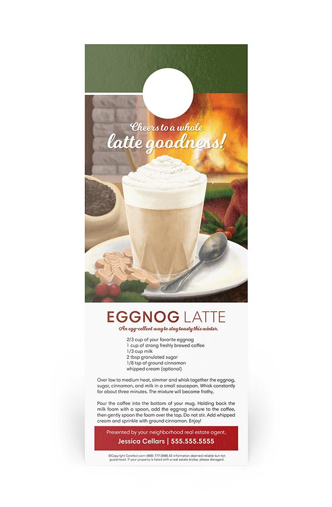 Corefact Door Hanger - Eggnog Latte