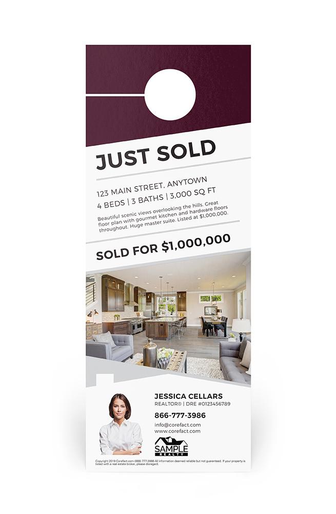Corefact Door Hanger - Just Sold 04
