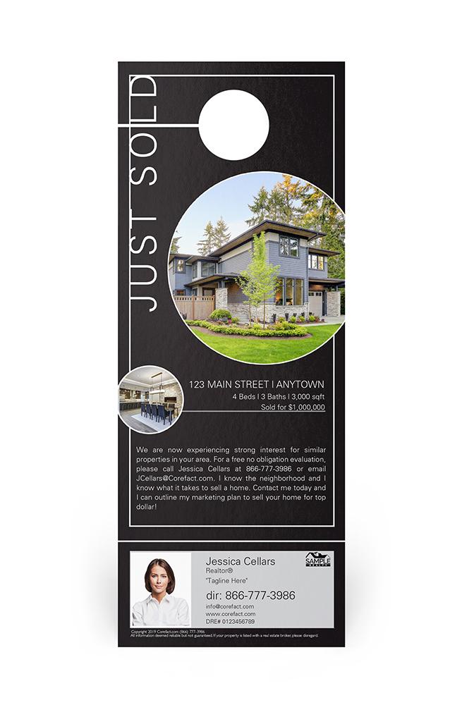Corefact Door Hangers - Just Sold 07