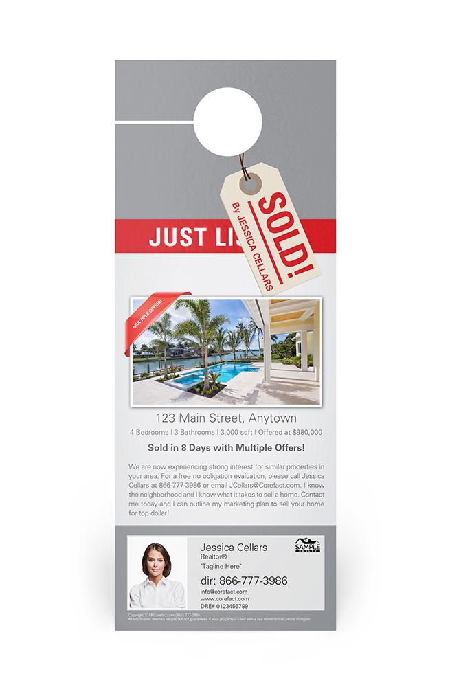 Corefact Door Hangers - Just Sold 08