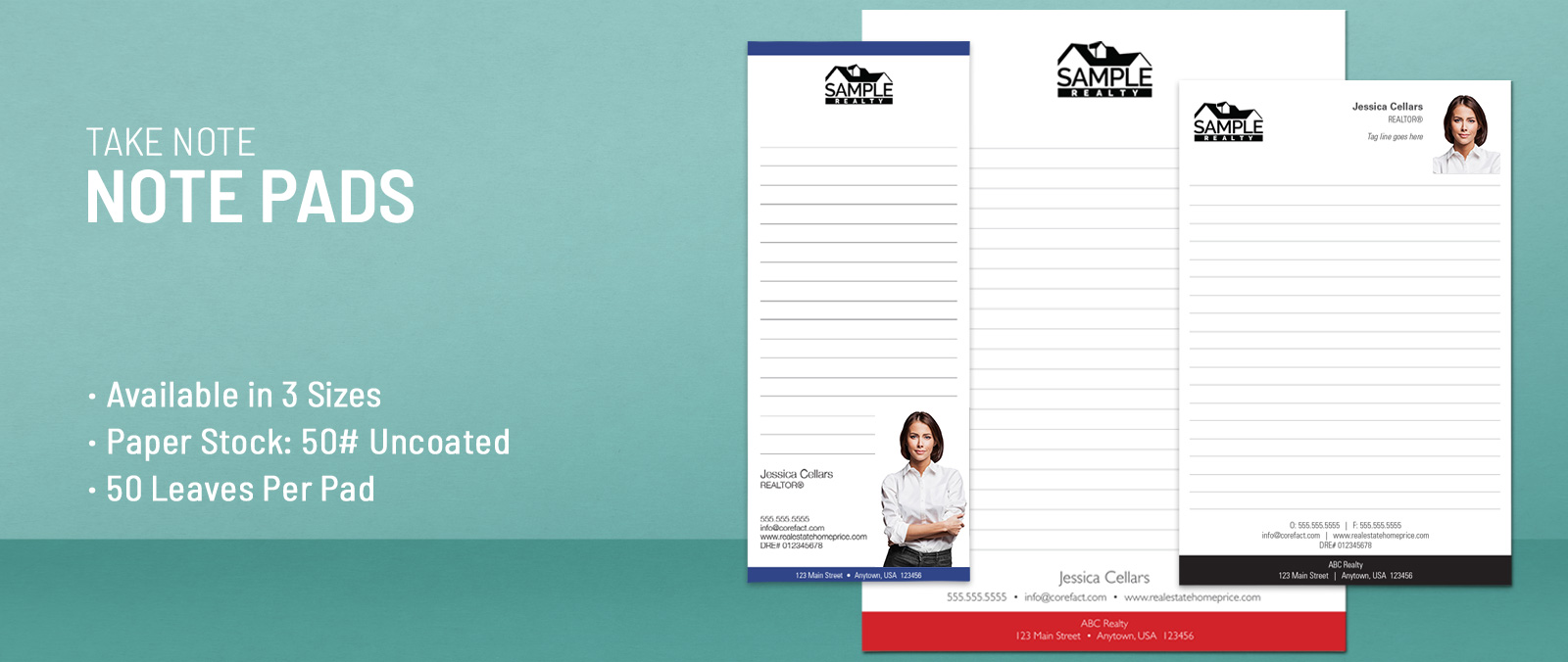 Real Estate Notepads