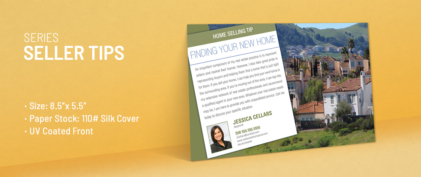 Real Estate Buyer Tips Postcards