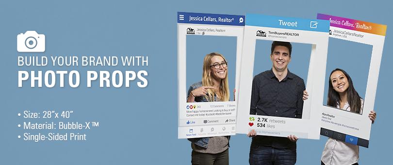 Social Media Prop Frames