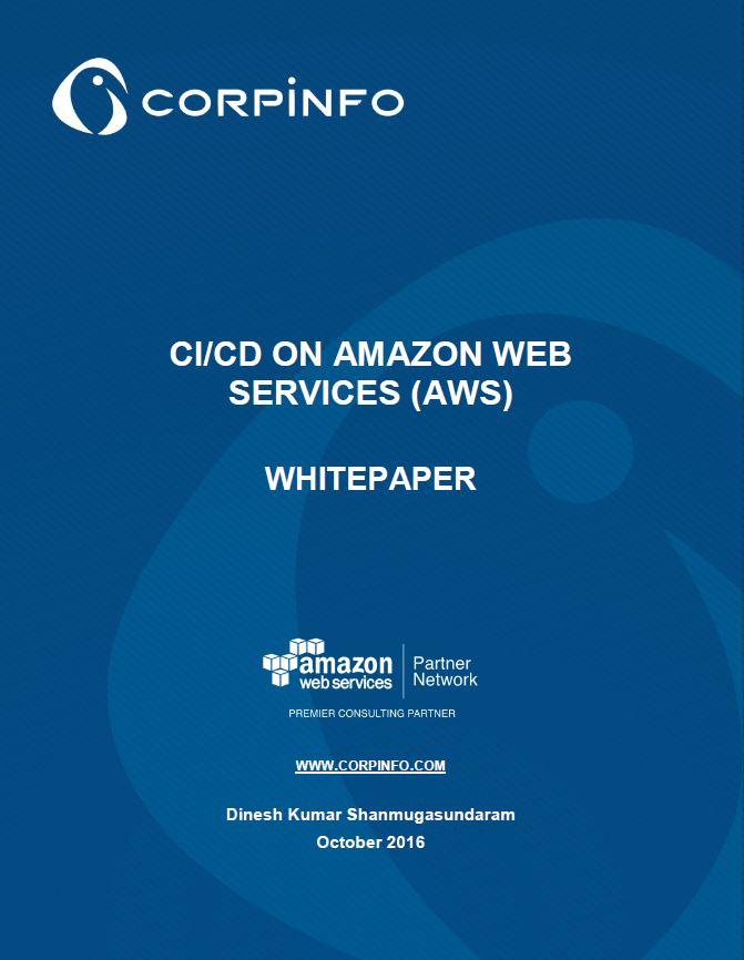 CI/CD on AWS Whitepaper