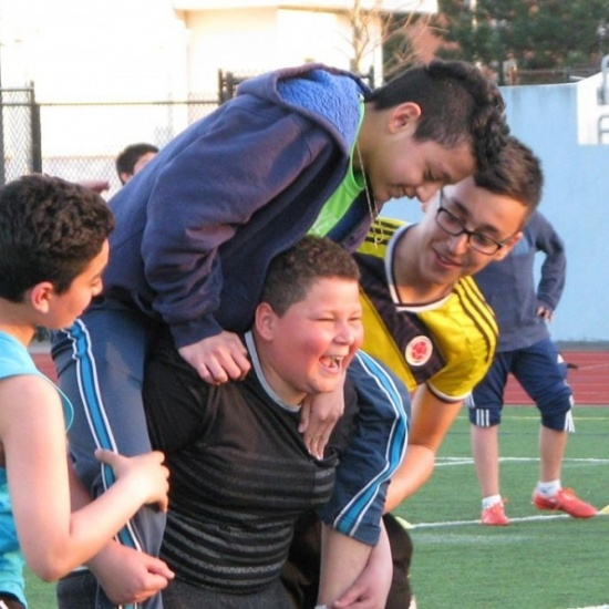 SOCCER WITHOUT BORDERS' Photo