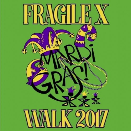 Fragile X Mardi Gras Walk!!! Photo