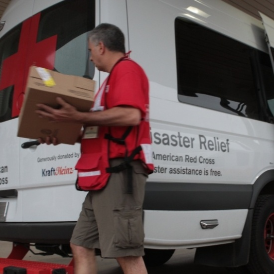 Hawaii Red Cross Emergency Response Vehicle Photo