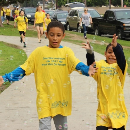 Concern America's 20th Annual Walk Out of Poverty Photo