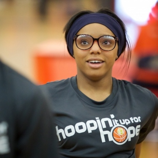 2017 Hoopin' It Up for Hope Photo