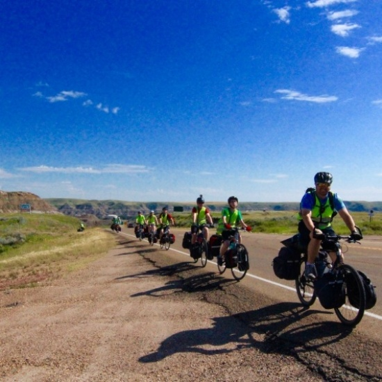 Riding Raw Across America Photo