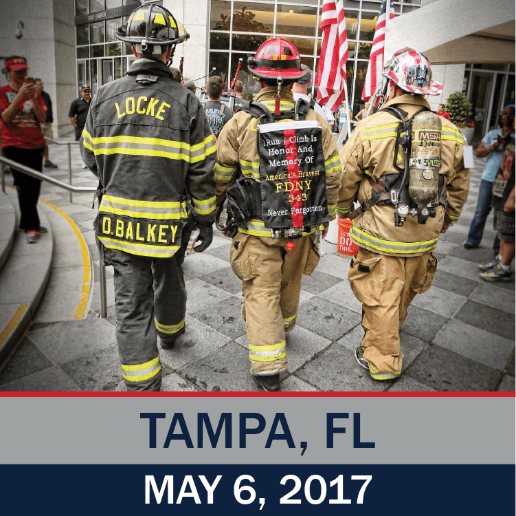 Tunnel to Towers Tower Climb Tampa 2017 Photo