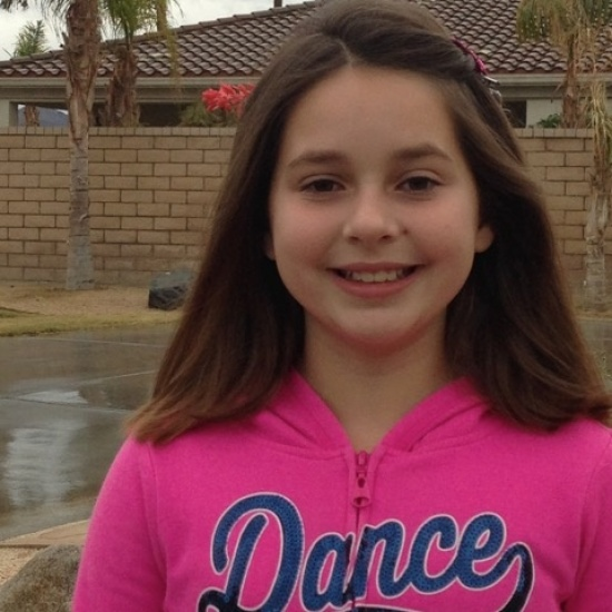 GIANNA, 10: BALLET LESSONS Photo