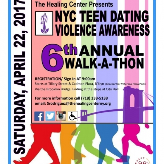 NYC Teen Dating Violence Awareness Walk-A-Thon Photo