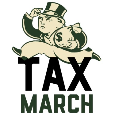 Trump's Tax March Photo