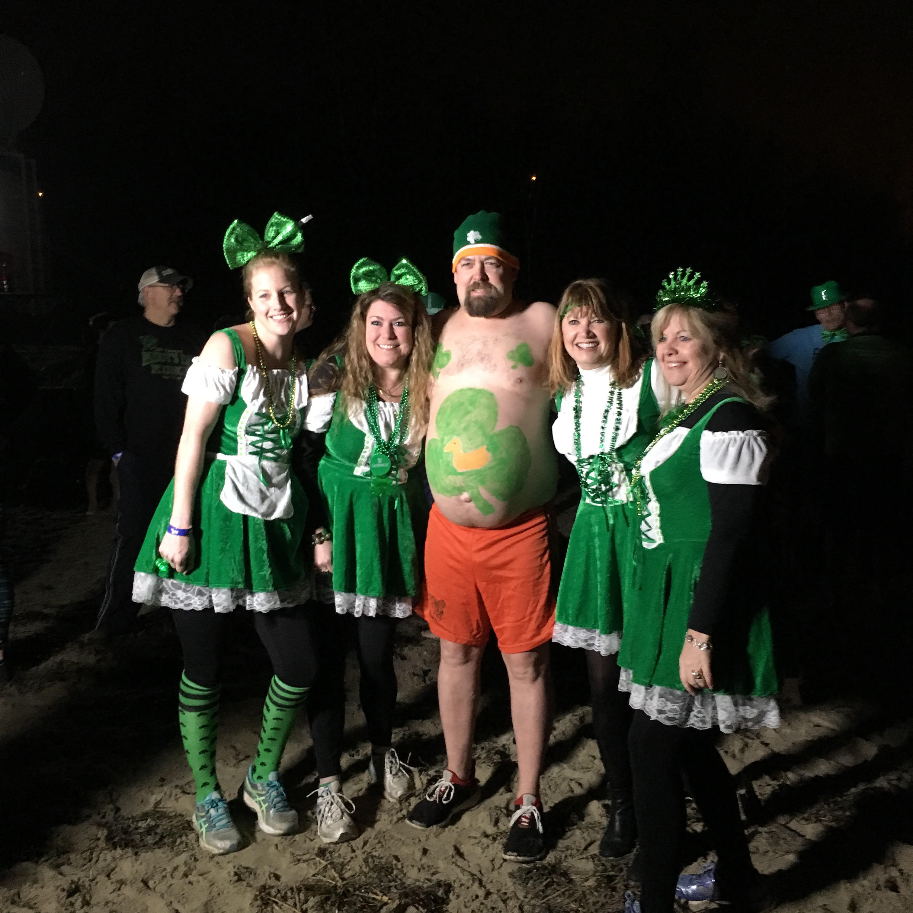 Paddy's Day Plunge Photo