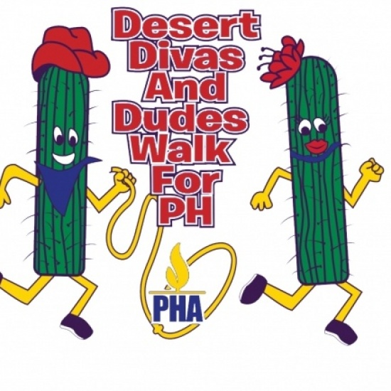 Desert Divas and Dudes WALK FOR PH Photo