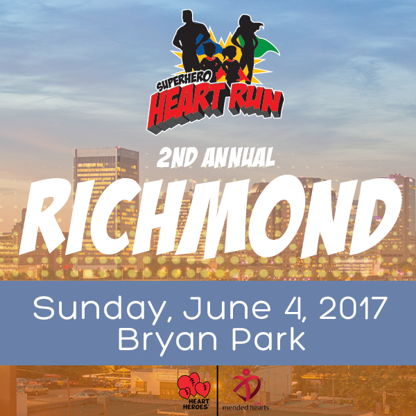 Superhero Heart Run - Richmond 2017 Photo