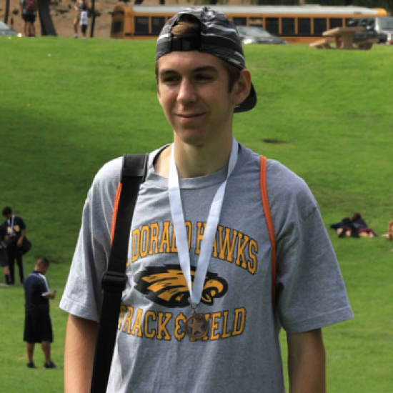 ETHAN, 16: CROSS COUNTRY SUMMER CAMP Photo