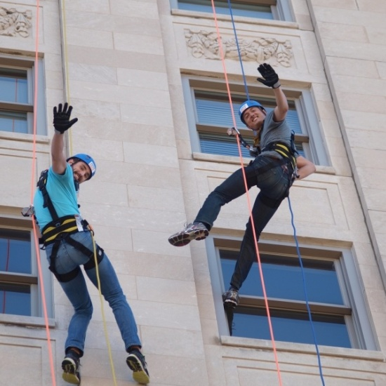 Over the Edge Oshkosh Photo